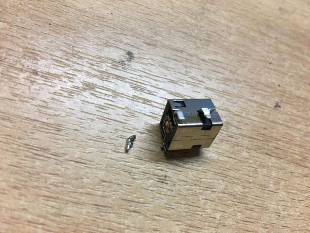 Ремонт ноутбуку Asus a54h - замена разъёма зарядки