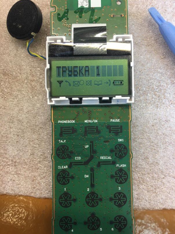 Ремонт радиотелефона Panasonic KX-TGA161RU пишет ERRO или ERR0
