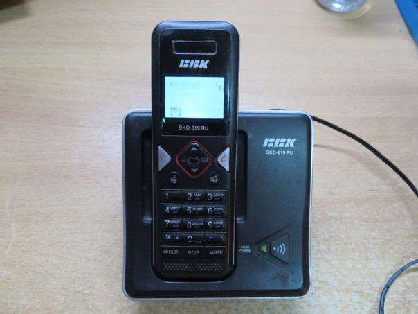 Ремонт радиотелефона BBK BKD-819 RU - нет гудка!