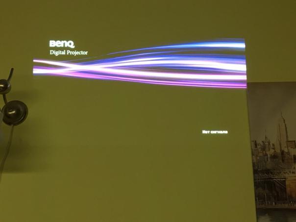 Ремонт проектора Benq MX660P - вертикальные полосы на изображении!