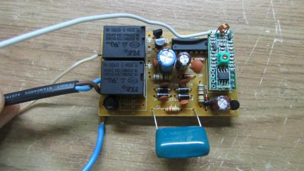Ремонт люстры на радио управлении