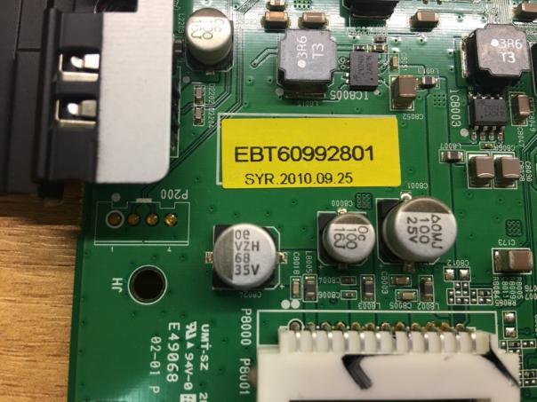 Телевизор LG 42LE5500 отсутствует картинка AV, HDMI, SCART - избегайте этой модели!