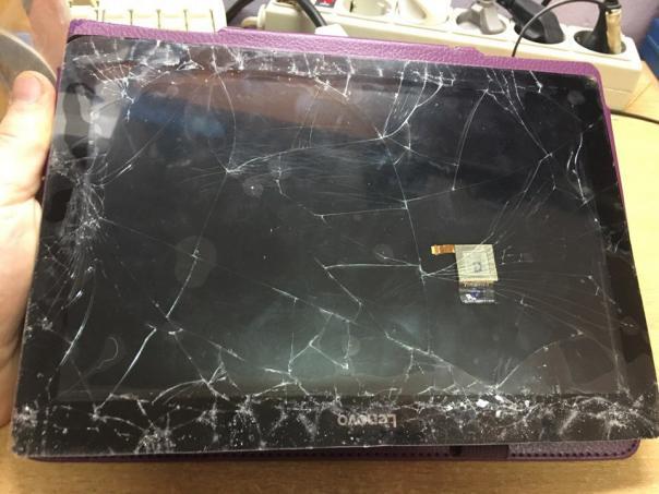 Ремонт планшета Lenovo tb2-x30l - замена дисплейного модуля