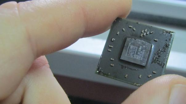 Ремонт Acer 5732Z замена видеочипа 216-0728018