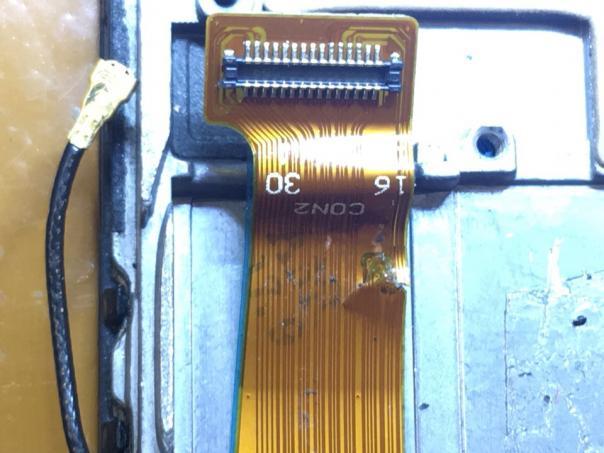 Ремонт шлейфа дисплея Lenovo p70