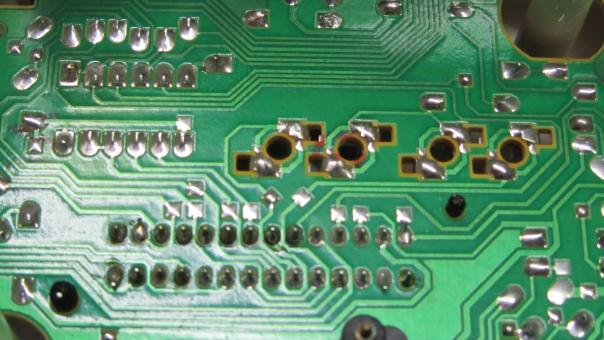 кольцевые трещины приборной панели