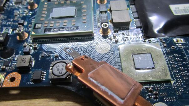 Ремонт ноутбука Lenovo G565 - нет инициализации!