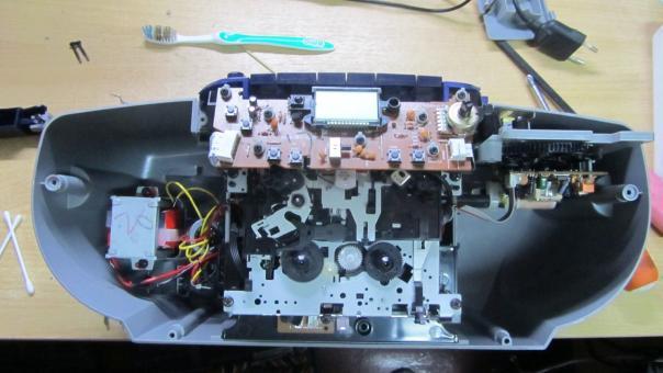 Ремонт Магнитолы Philips AZ5130 - не работает CD!