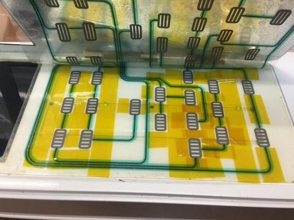 Микроволновка Samsung G2749NR - ложные срабатывания передней панели