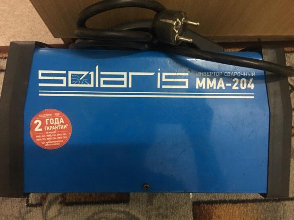 Ремонт Сварочный инвертор Solaris mma-204