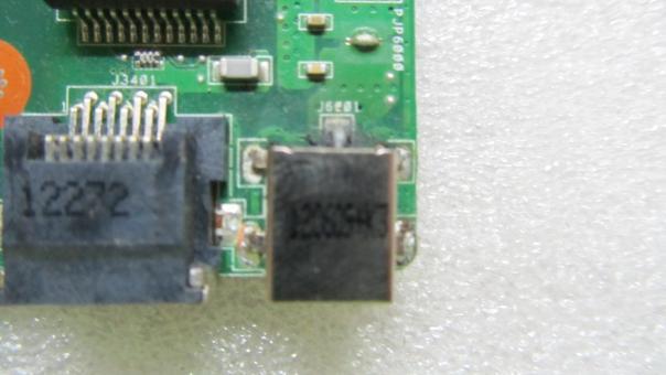 Замена разъема питания ноутбука Asus K53S