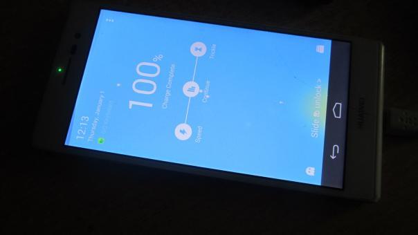 Ремонт телефона Huawei P7-L10 - залитик, нет подсветки.