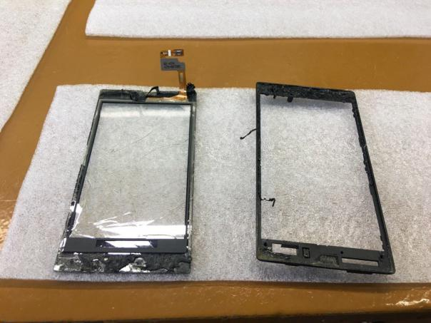 Nokia 525 - замена тача... просто фото