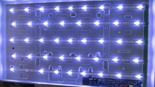 Ремонт телевизора Philips 40PFL3107H/60 восстановление подсветки!