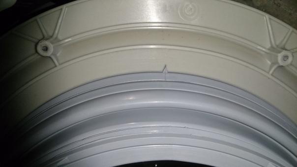 Ремонт стиральной машины замена манжеты люка