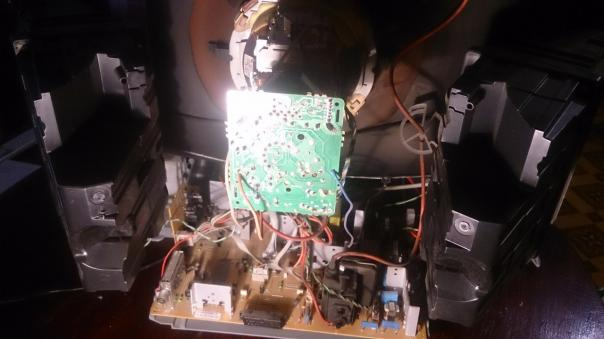 Ремонт телевизора Horizont 29CF54S - периодически пропадает изображение!