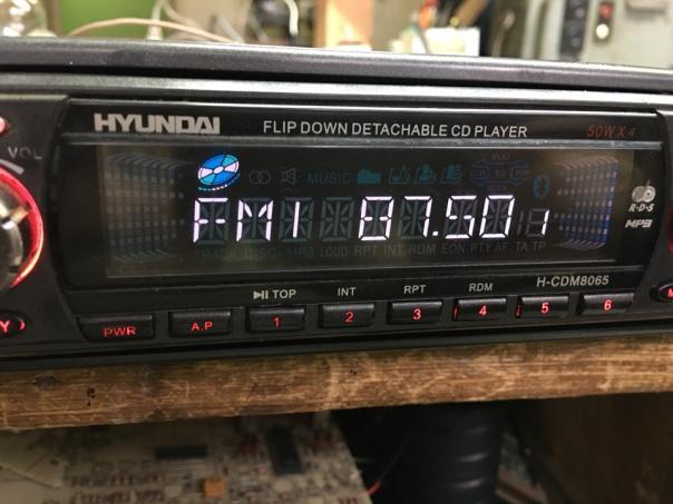 Ремонт магнитолы HYUNDAI H-CDM8065 - no disk!