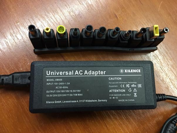 Ремонт универсального зарядного для ноутбука Xilence XM008