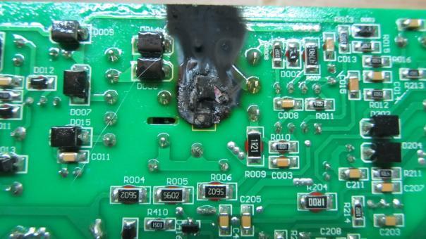 Ремонт сварочного инвертора Gude GIS 200 - демпфер шима UC3842