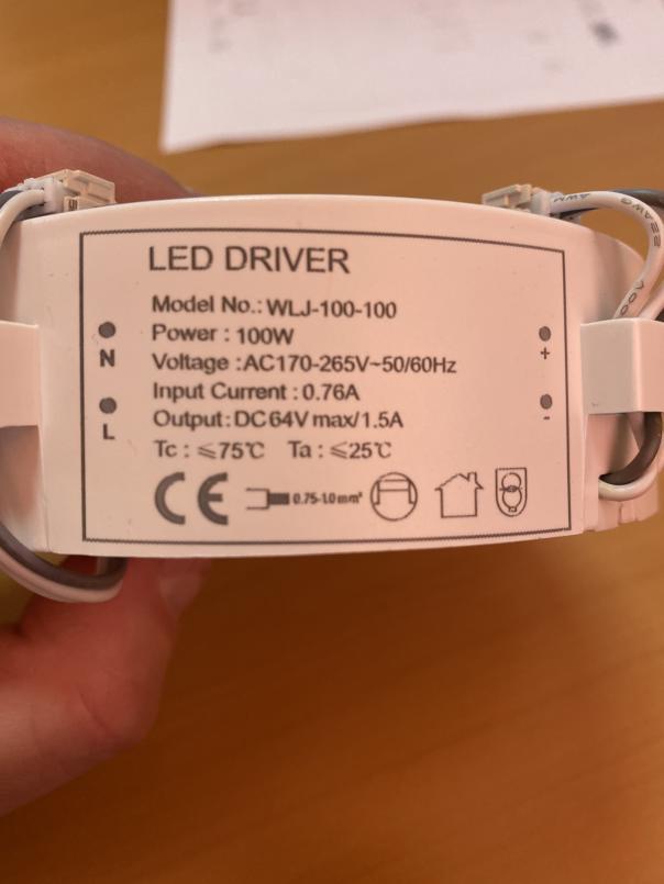 Перестала включаться светодиодная люстра Estares ARION-100R