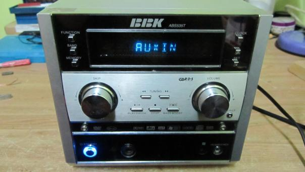Ремонт музыкального центра BBK ABS535T - не работает AUX!